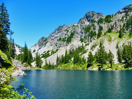 Melakwa Lake - a popular day hike from the Denny Creek Campground