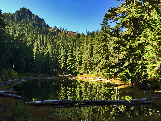 Harrison Lake - 4,700' accessible from the Tunnel Creek Trailhead
