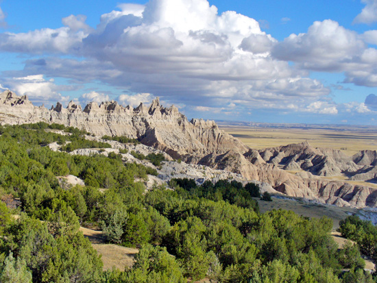 Badlands National Park Scarps