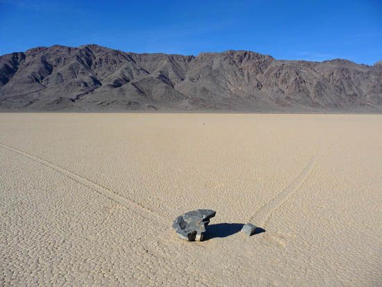 Sheetflow Phenomenon in Death Valley National Park